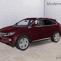 Car Sims 4 2015 Lexus Rx 350