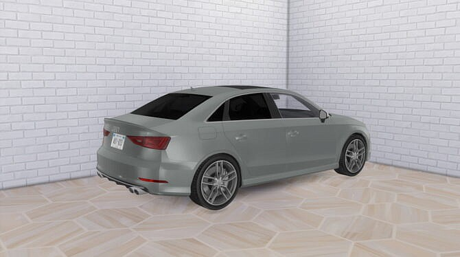 Sims 4 2016 Audi S3 at Modern Crafter CC