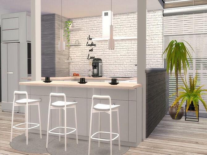 Sims 4 Carmen modern home by Suzz86 at TSR