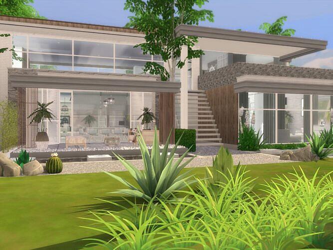 Carmen Modern Sims 4 Home