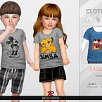 Cartoon Sims 4 Shirt For Toddler 01