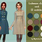 Cashmere Sims 4 Coat