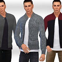 Casual Sims 4 Jackets M