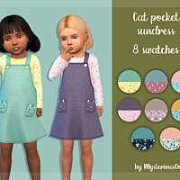 Cat Pocket Sims 4 Sundress