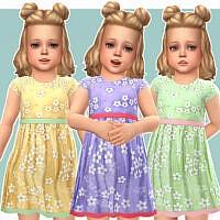 Cecilia Sims 4 Dress