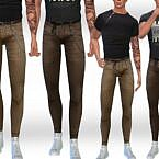 Chain Sims 4 Pants Male