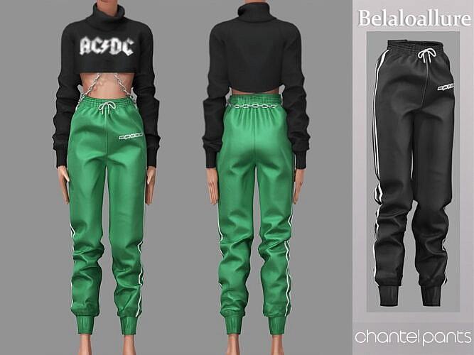 Chantel Sims 4 Track Pants