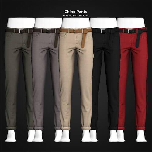 Chino Pants Sims 4