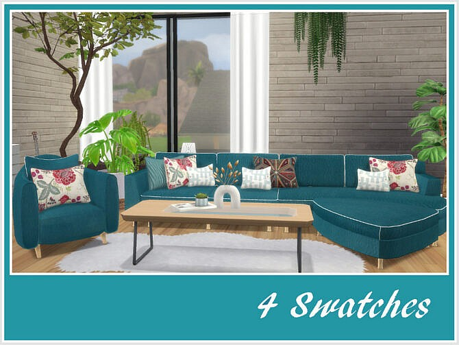 Sims 4 Chloes Sitting Room by philo at TSR