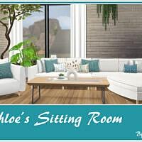 Chloe Sitting Sims 4 Room
