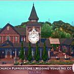 Church Sims 4 Wedding Venue
