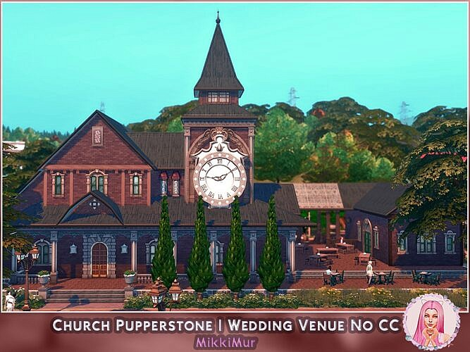Church Sims 4 Wedding Venue