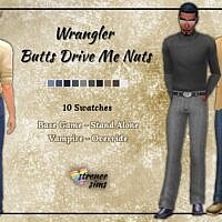 Classic Sims 4 Jeans Males