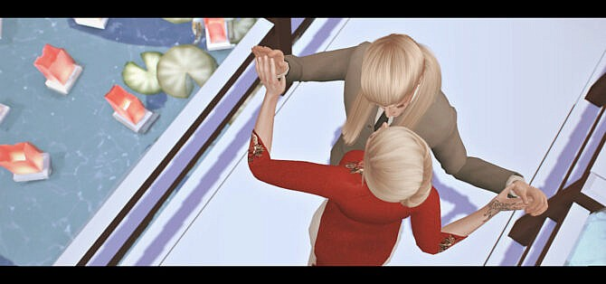 Sims 4 Close to you posepack at Rethdis love