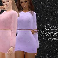 Cosy Sims 4 Sweater