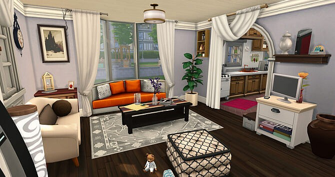 Sims 4 Cozy Interior Home at Simsontherope