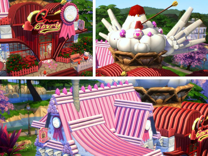 Sims 4 Cupids Cupcakes by VirtualFairytales at TSR