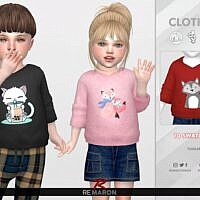 Cute Sims 4 Hoodie For Toddlers