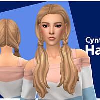 Cynthia Sims 4 Hair