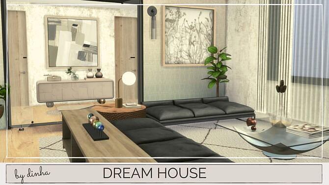 Sims 4 DREAM HOUSE at Dinha Gamer