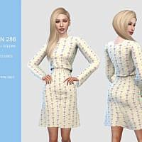 Dress N 286 By Pizazz