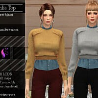 Dahlia Sims 4 Sweater Shirt