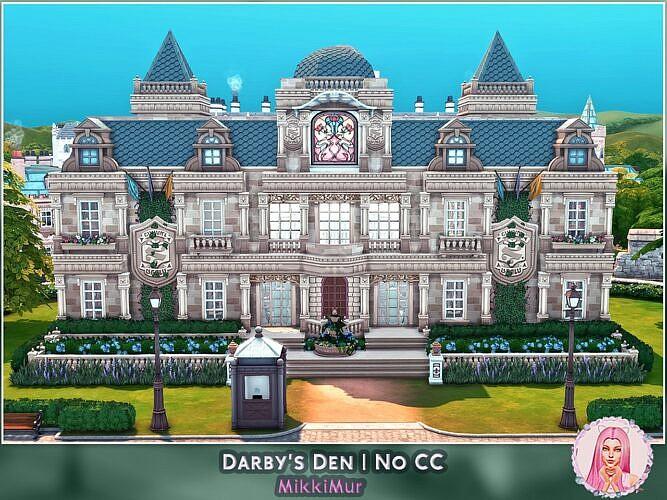 Darbys Den Sims 4