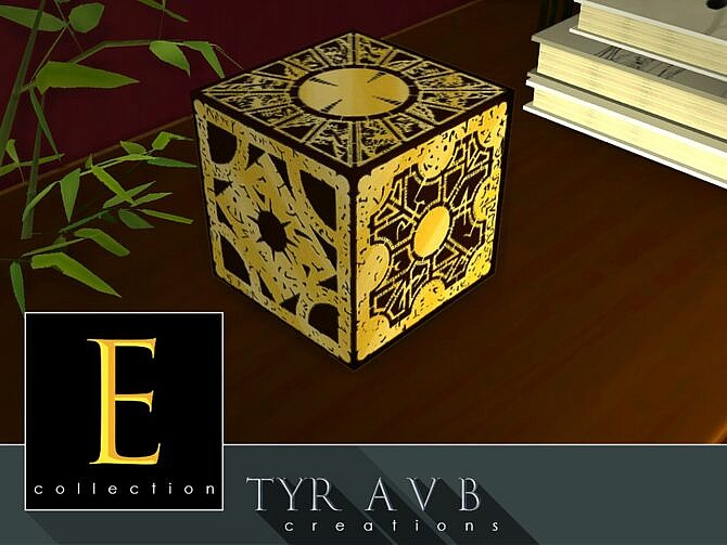 Sims 4 Decorative Cube E collection by TyrAVB at TSR