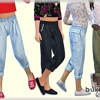 Denim Sims 4 Pants