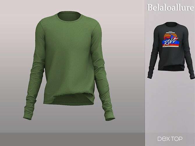 Sims 4 Dex top by belal1997 at TSR