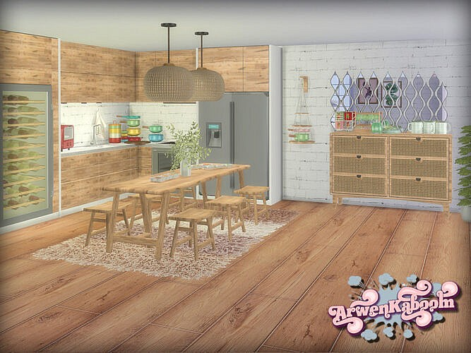 Dining Room Sims 4 Frosted Grove V