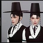 Doryeong Gat Sims 4 Set Hat