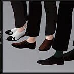 Doryeong Sims 4 Shoes Males