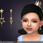 Drop Sims 4 Earrings For Toddlers Andromeda
