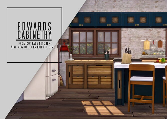 Edwards Sims 4 Kitchen Cabinetry