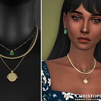 Elio Sims 4 Necklace By Christopher067