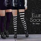 Ellie Sims 4 Socks By Dissia
