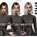Evie Sims 4 Hairstyle Leahlillith