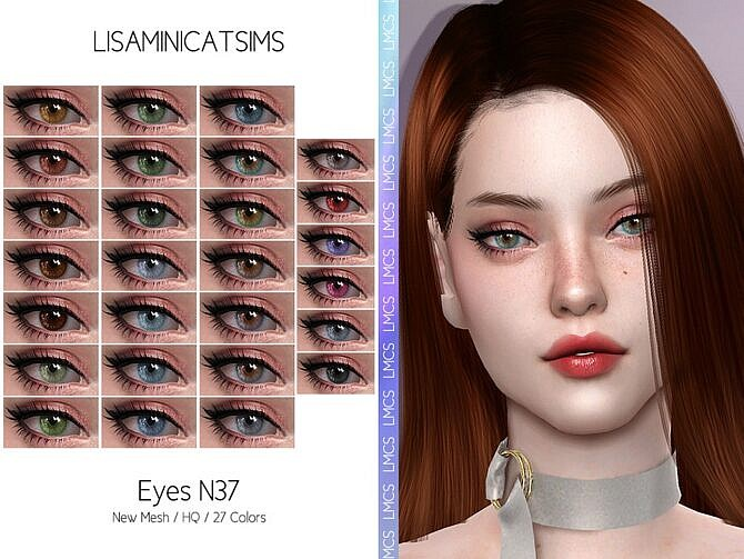 Sims 4 Eyes N37 HQ by Lisaminicatsims at TSR