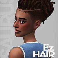 Ez Sims 4 Hair