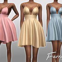 Farrah Sims 4 Party Dress