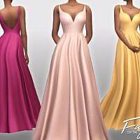 Faye Sims 4 Gown Sifix