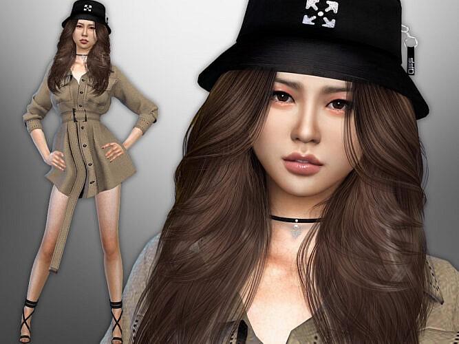 Female Sims 4 Emiko Saeki