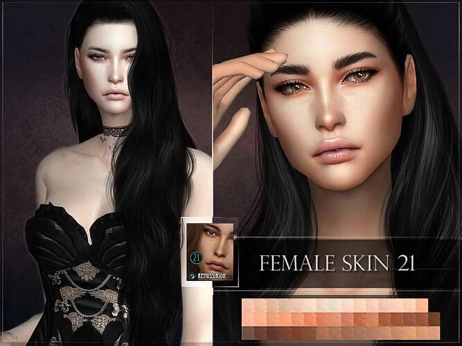 Female Sims 4 Skin 21