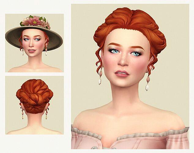 First Kiss Sims 4 Hair