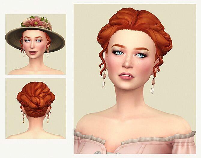 Sims 4 First Kiss Hair at Joliebean