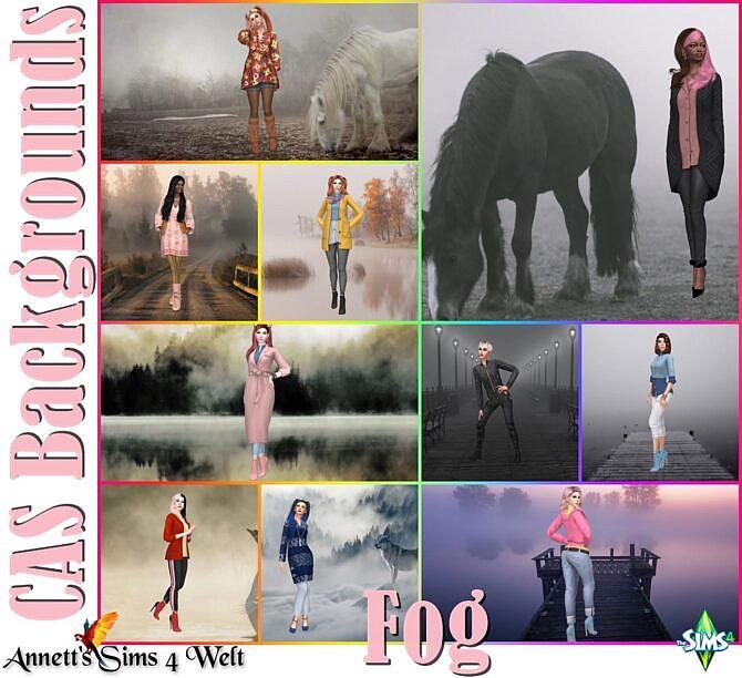 Sims 4 Fog CAS Backgrounds at Annett's Sims 4 Welt