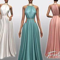 Formal Sims 4 Dress Fortuna