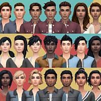 Fortnite Boundless Sims 4 Hair Set