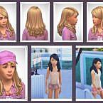 Franky Kids Sims 4 Hair